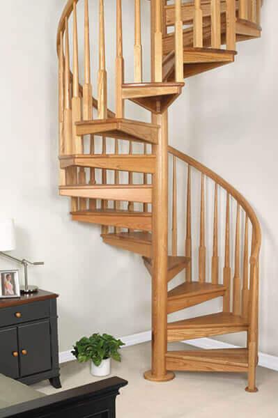 Escada de Madeira Caracol