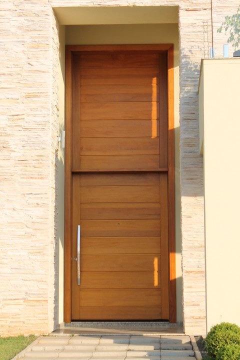 Porta Painel em Angelim Pedra