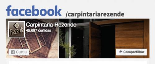 Facebook Carpintaria