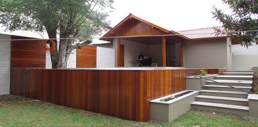 Casa Com Madeira Cumaru