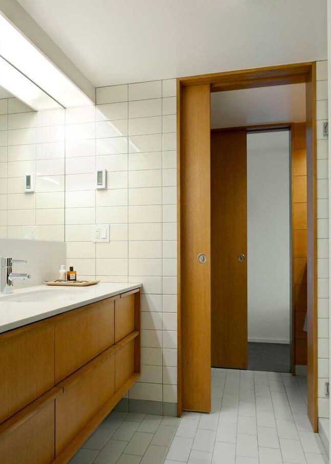 Porta de Correr no Banheiro