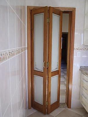 Porta Sanfonada para Banheiro