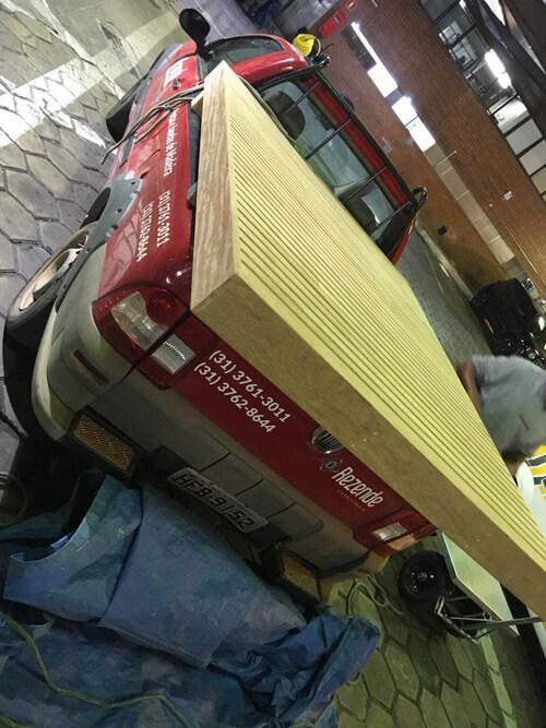 Transporte do Deck