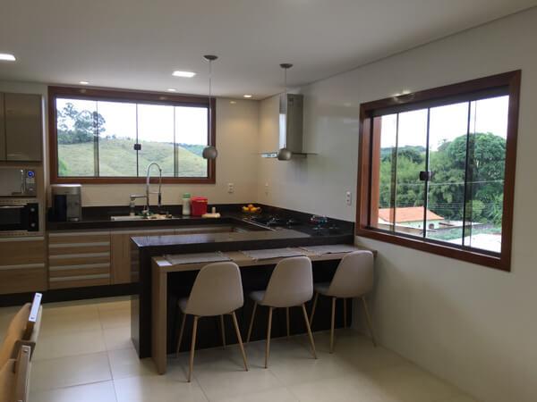 Marco de Janela Blindex para Cozinha