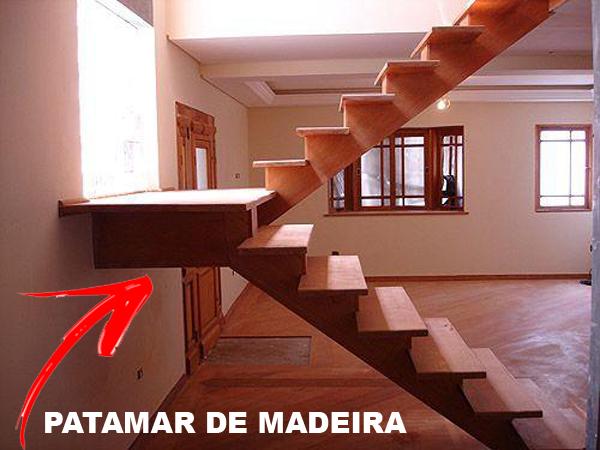 Patamar de Madeira