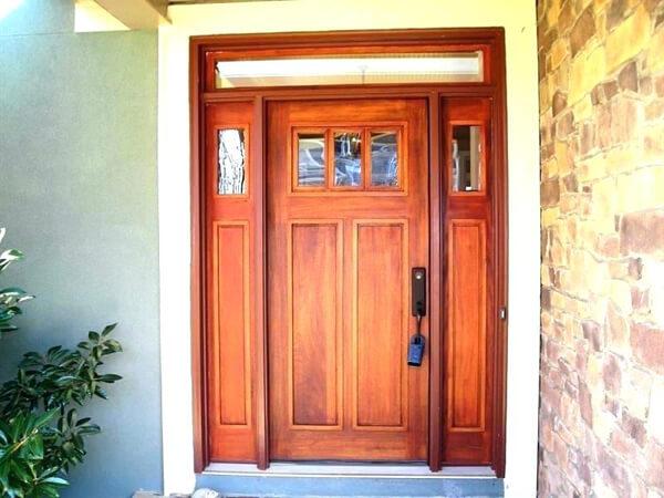 Porta de Madeira Cedro
