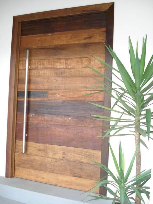 Porta de Peroba Rosa