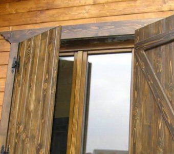 Modelos de janelas de Madeira Rústica