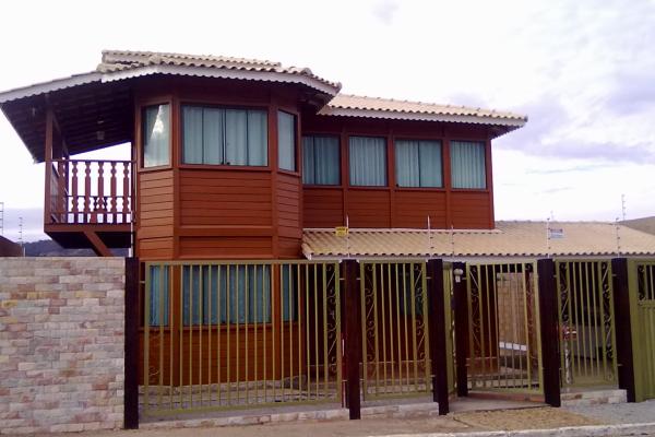 Casa com Stain para Madeira