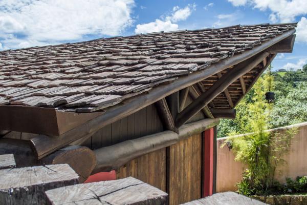 Onde utilizar telhas de madeira?